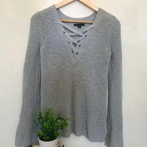 Pastel Blue American Eagle Sweater